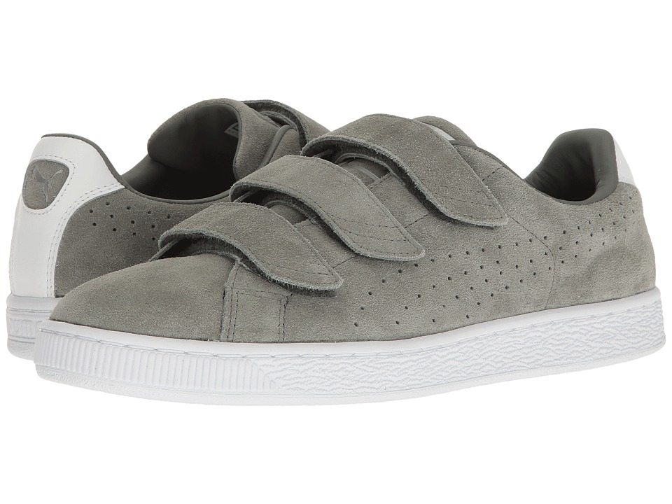 PUMA - Basket Classic Strap (Agave Green) Mens Shoes