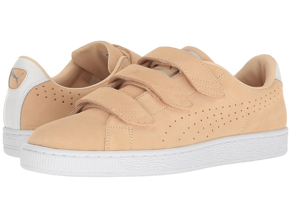 Puma Basket Classic Strap (Natural Vachetta) Men's Shoes