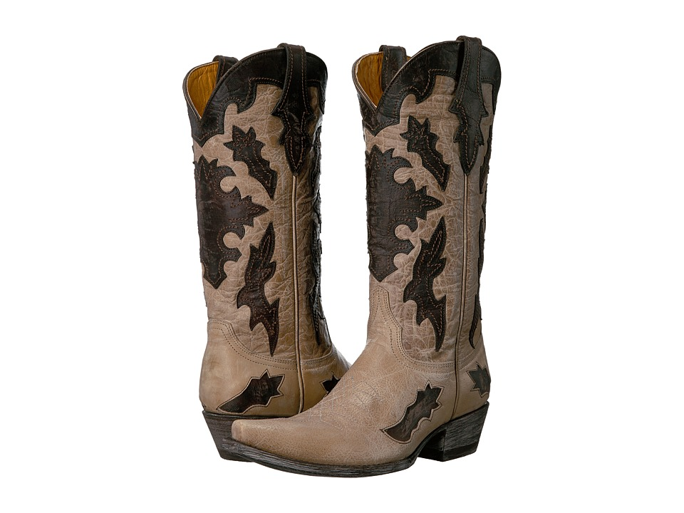 Old Gringo Kissa (Bone/Chocolate) Cowboy Boots