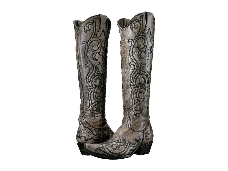 Old Gringo Dolce Stitch (Bone/Grey) Cowboy Boots