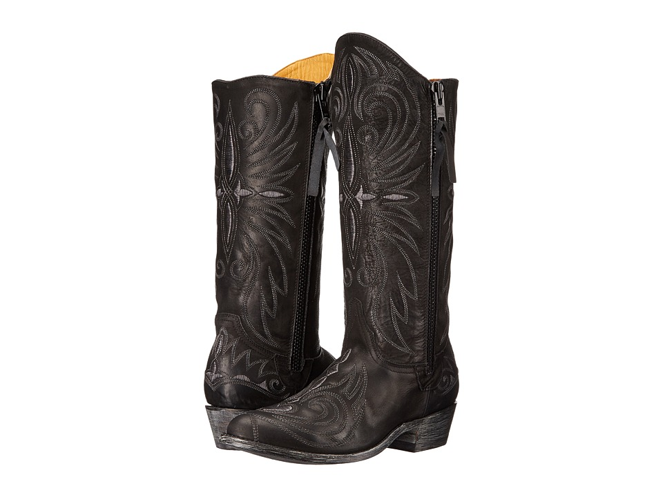 Old Gringo Imala (Black) Cowboy Boots
