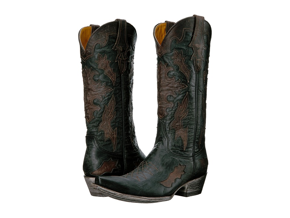 Old Gringo Kissa (Black/Chocolate) Cowboy Boots