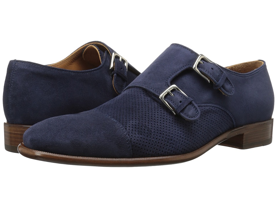 Bruno Magli Wesley Suede (Navy) Men