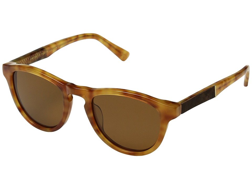 Shwood - Francis (Amber/Elm/Brown Polarized) Sport Sunglasses