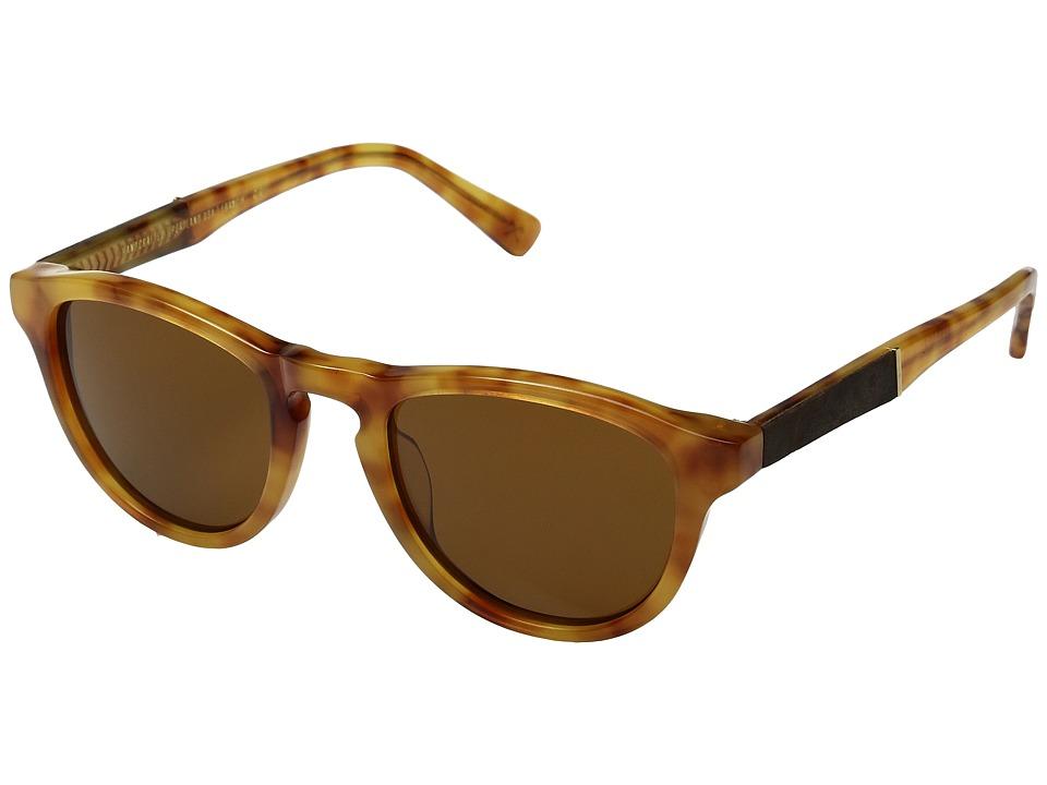 Shwood Francis (Amber/Elm/Brown) Sport Sunglasses