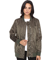 Blank NYC - Olive Bomber Jacket in Flexible