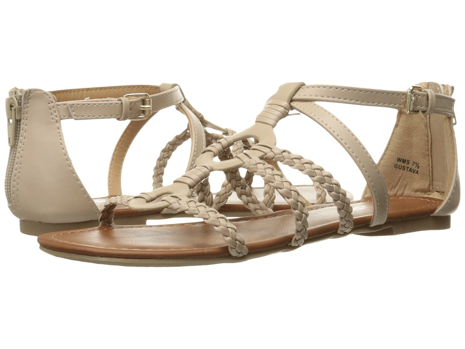 Report - Gustava (Taupe Synthetic) Women's Shoes