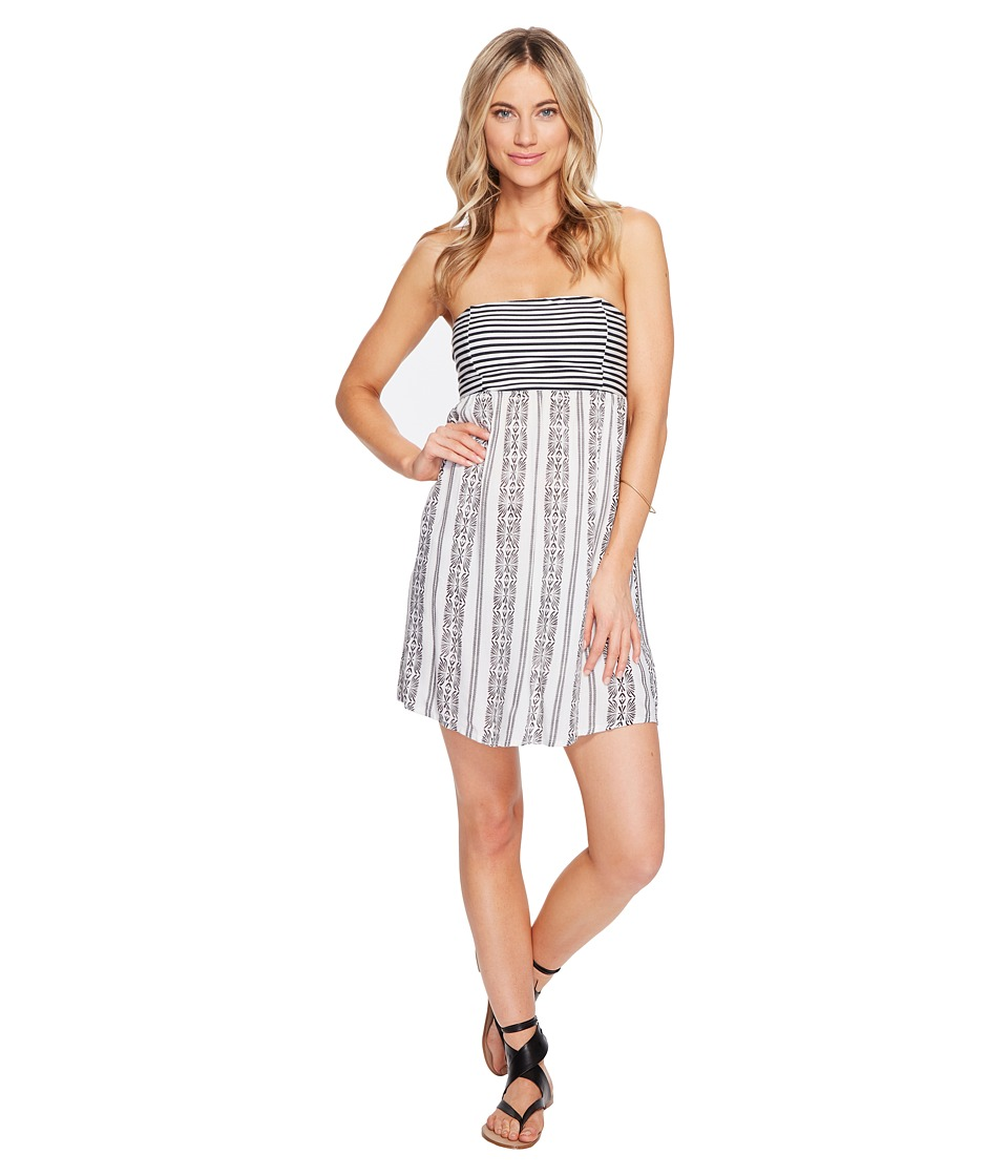 Roxy Crystal Light Dress (Anthracite Isabella Stripe) Women