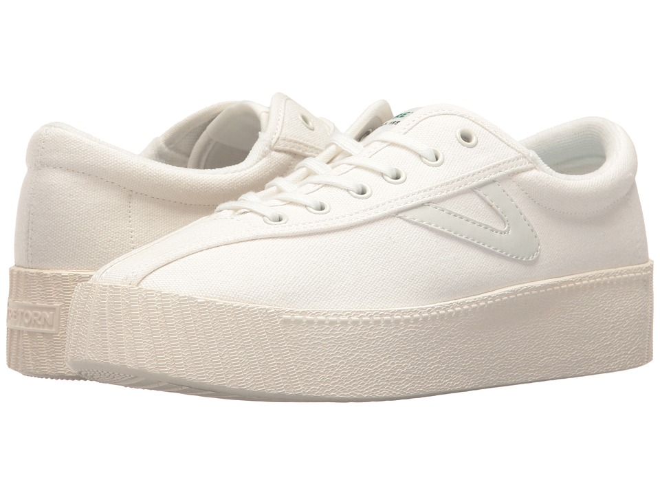 Tretorn Nylite Bold (White/White/White) Women's Shoes