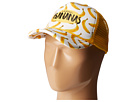 San Diego Hat Company Kids - CTK4187 Sublimated Banana Print Foam Back Trucker Hat (Toddler/Little Kids/Big Kids)