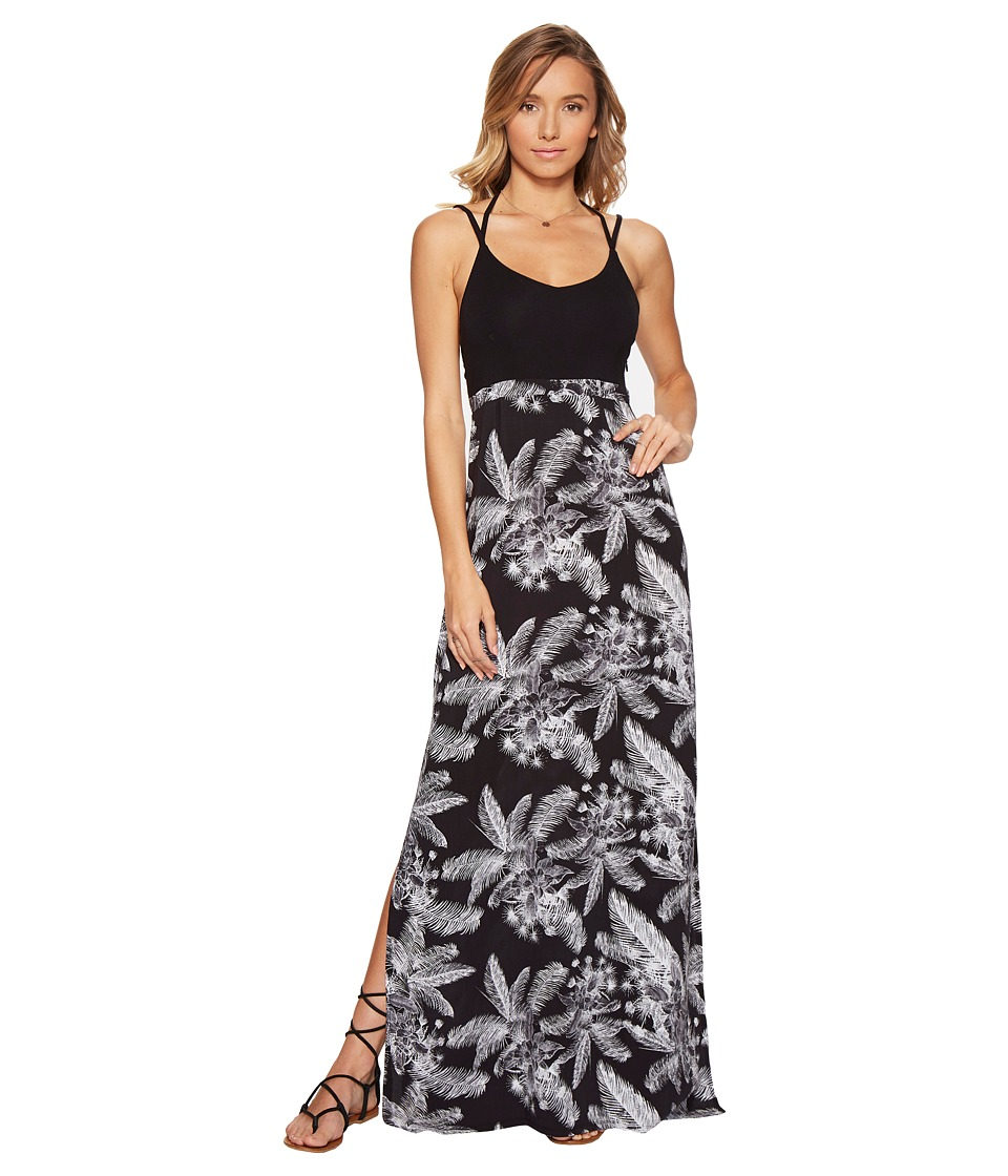 Hurley Ruby Maxi Dress (Black L) Women