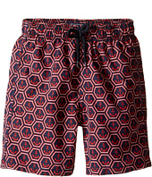 Vilebrequin Kids - Anchor of China Swim Trunk (Toddler/Little Kids/Big Kids)