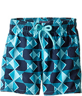 Vilebrequin Kids - Graphic Fish Swim Trunk (Toddler/Little Kids/Big Kids)