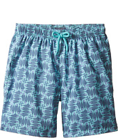 Vilebrequin Kids - Sashimi Check Fishes Swim Trunk (Big Kids)