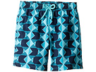 Vilebrequin Kids Graphic Fish Swim Trunk (Big Kids)