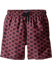 Vilebrequin Kids - Anchor of China Swim Trunk (Big Kids)