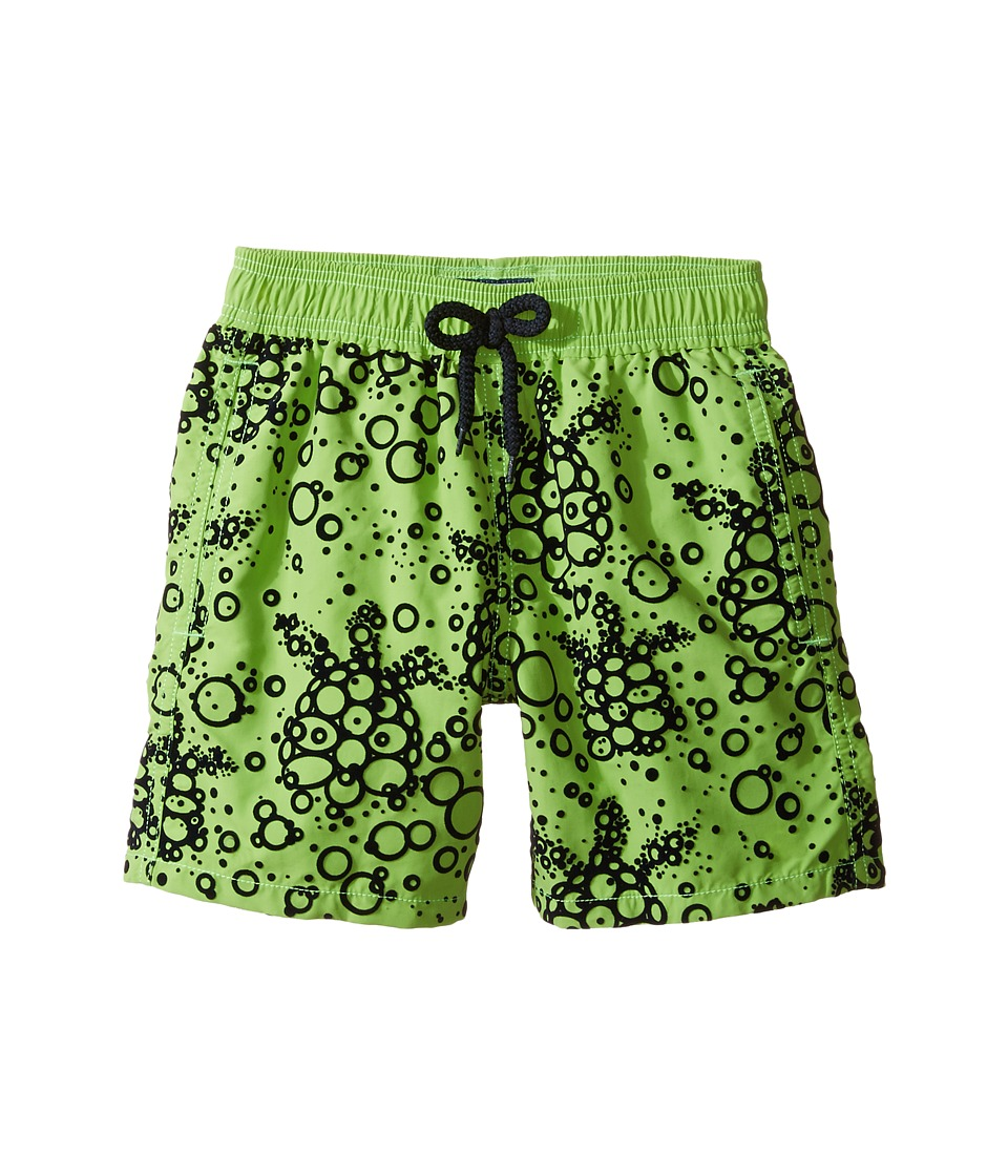 Vilebrequin Kids - Flocked Bubble Turtle Swim Trunk