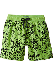 Vilebrequin Kids - Flocked Bubble Turtle Swim Trunk (Big Kids)