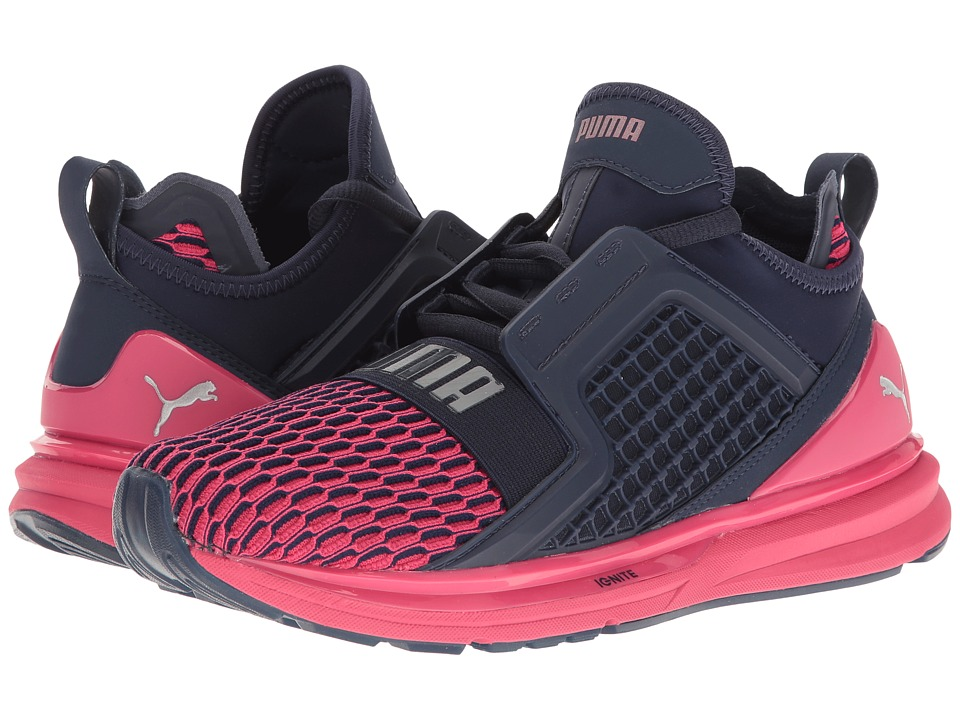 PUMA Ignite Limitless Color Block (Peacoat/Sparkling Cosmo) Women