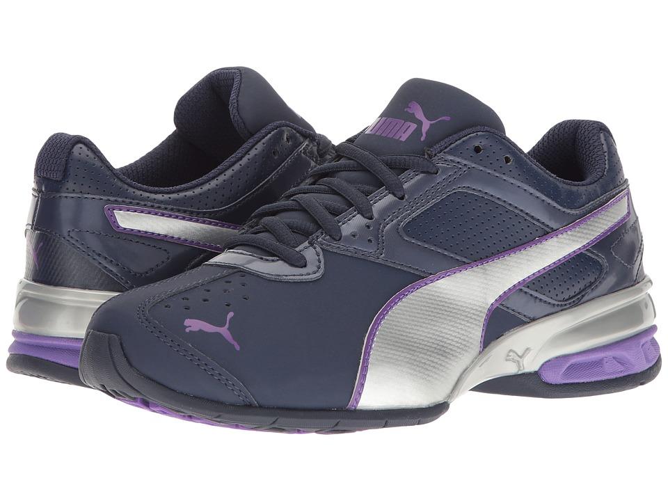 PUMA - Tazon 6 FM (Peacoat/Puma Silver/Electric Purple) Womens Shoes