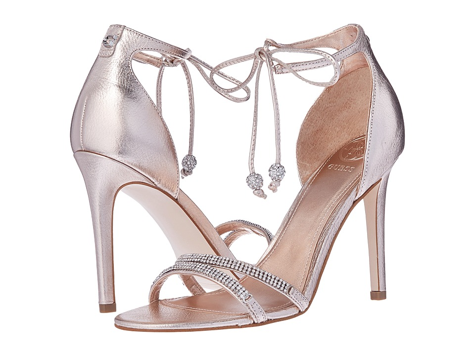 GUESS Peri (Peach/Rose Gold) High Heels