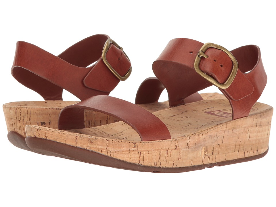 FitFlop Bon Sandal (Dark Tan) Women
