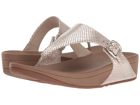 FitFlop The Skinny - Silver Snake