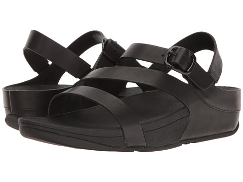 FitFlop The Skinny Z-Cross Sandal - All Black