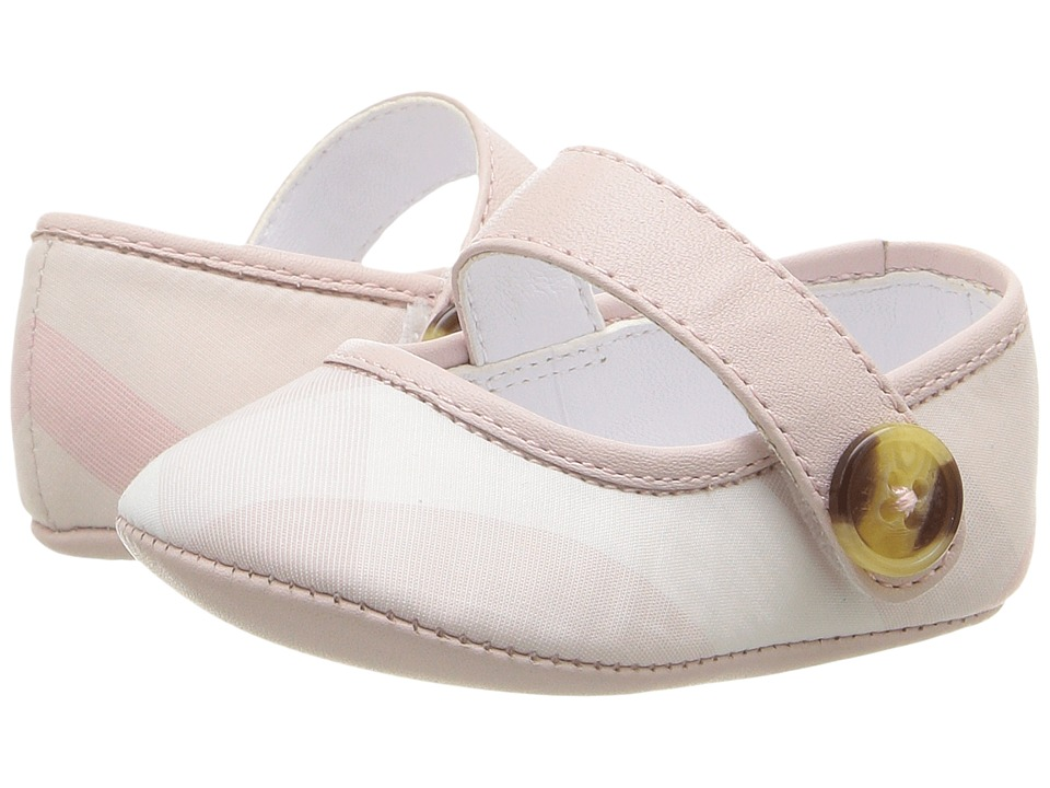 Burberry Kids Baldwyn (Infant/Toddler) (Ice Pink) Girl's Shoes