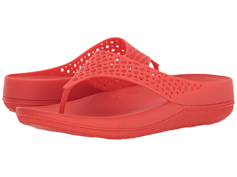 FitFlop Ringer Welljelly Flip-Flop - Flame