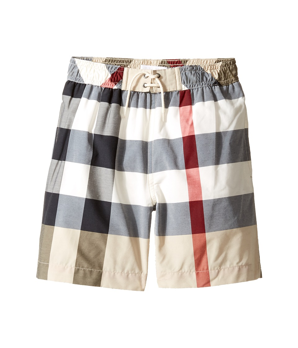Burberry Kids - Mini Jeffries Swim Trunk (Little Kids/Big Kids) (New Classic Check) Boys Swimwear