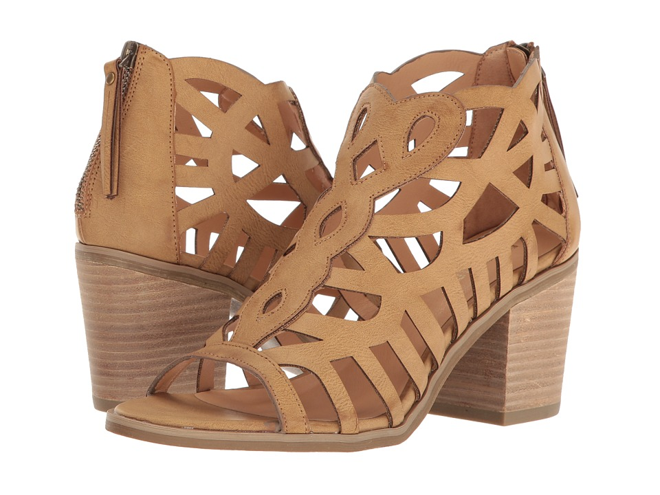Report Florette (Dark Tan Synthetic) High Heels