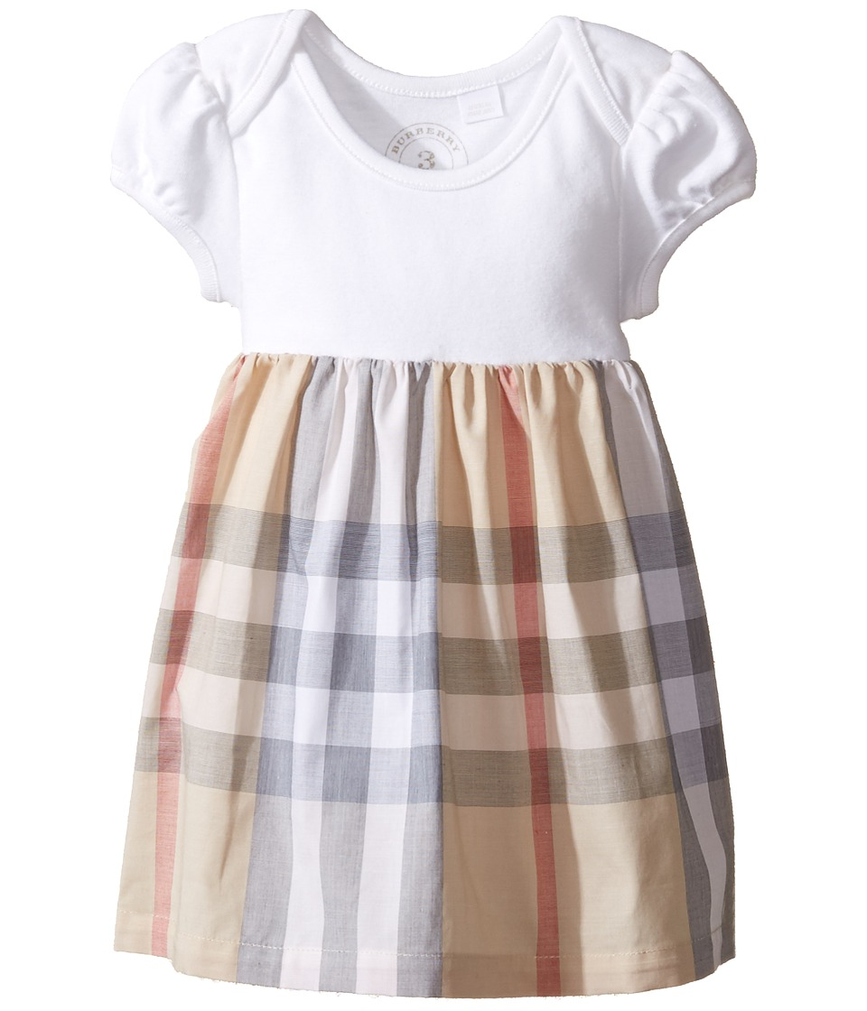 Burberry Kids - Cherrylina Dress (Infant/Toddler) (Pale Stone) Girls Dress