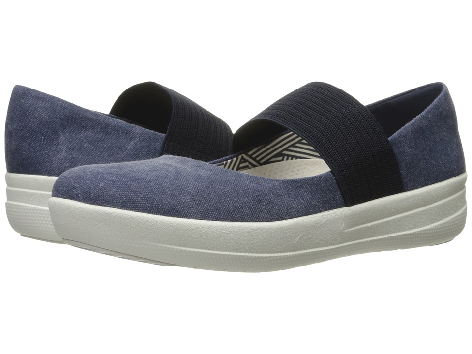 FitFlop Sporty Mary Jane (Midnight Navy) Women