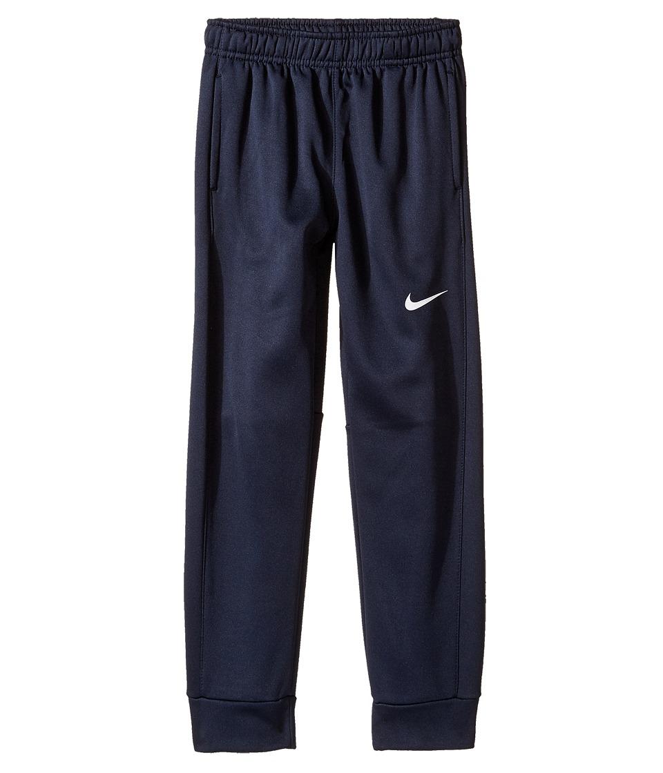 Nike Kids - Therma KO Fleece Tapered Pants (Little Kids) (Obsidian) Boys Workout