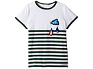 Burberry Kids Stripe Cloud Tee (Little Kids/Big Kids)