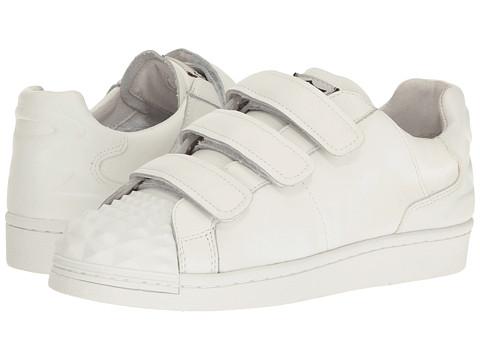ASH Club Sneaker - White/White Nappa Calf/Nappa