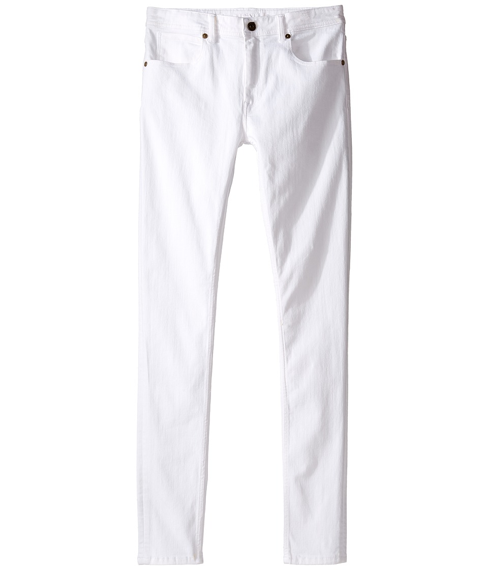 Burberry Kids - Skinny Trouser Pants (Little Kids/Big Kids) (White) Girls Casual Pants