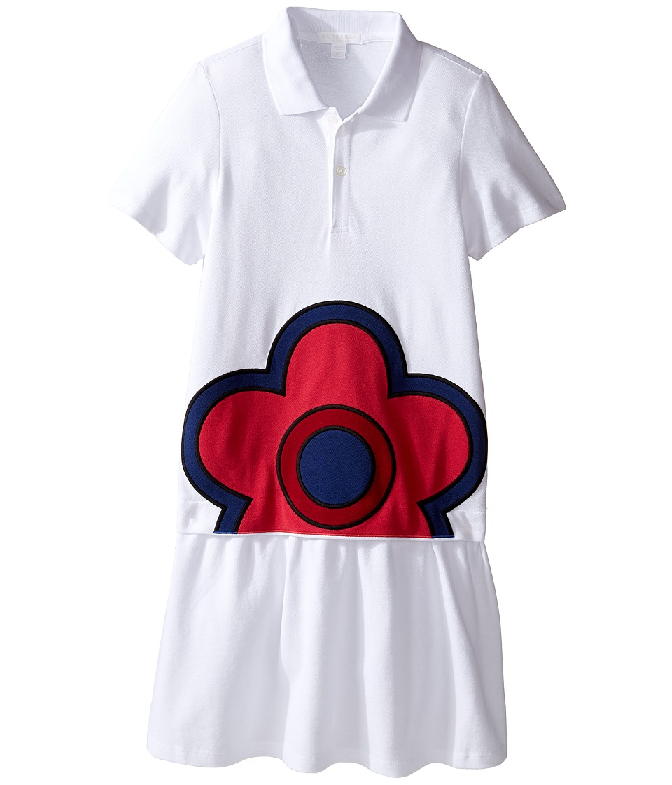 Burberry Kids - Cheryl Dress (Little Kids/Big Kids) (Whit...