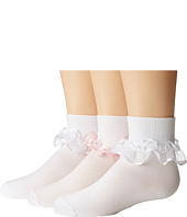 Jefferies Socks - Sheer Ribbon Tutu 3 Pack (Infant/Toddler/Youth)
