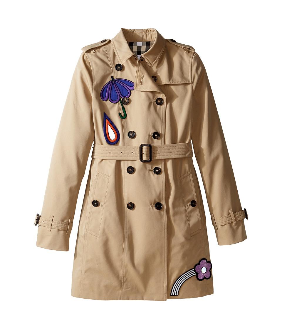 Burberry Kids - Sandrigham Trench Coat (Little Kids/Big K...
