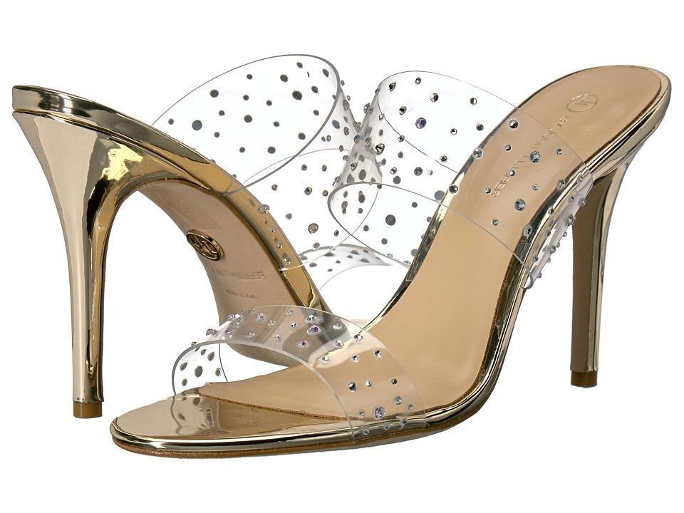JL by Judith Leiber Magic (Gold) High Heels