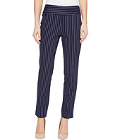 Lisette L Montreal - Tailored Stripe Hollywood Print Ankle Pants