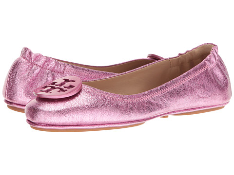 Tory Burch Minnie Travel Ballet - Bougainville Pink