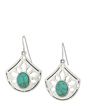 The Sak - Pierced Stone Drop Earrings