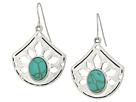 The Sak - Pierced Stone Drop Earrings