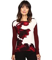 Calvin Klein Jeans - Printed Front Long Sleeve Tee