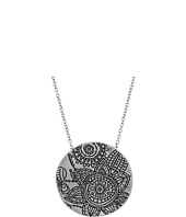 The Sak - Etched Flower Pendant Necklace 28