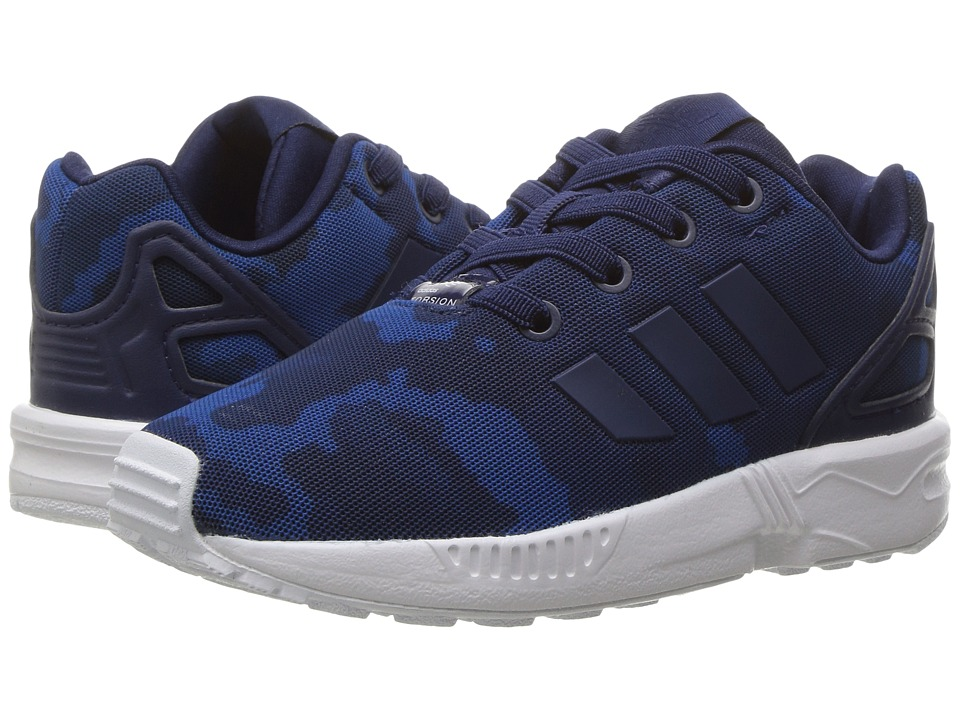 adidas Originals Kids ZX Flux (Toddler) (Collegiate Navy/Collegiate Navy/Footwear White) Boys Shoes