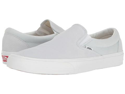 Vans Classic Slip-On™ - (Suede/Canvas) Illusion Blue/True White